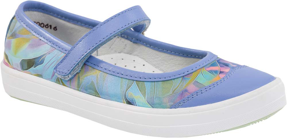 Туфли для девочки Котофей, цвет: сиреневый. 632219-22. Размер 37,5632219-22Модные туфли для девочки от Котофей, выполненные из натуральной кожи, оформлены оригинальным принтом. Ремешок с застежкой-липучкой обеспечивает надежную фиксацию модели на ноге. Внутренняя поверхность и стелька из натуральной кожи гарантируют комфорт при движении. Стелька дополнена супинатором. Подошва дополнена рифлением.