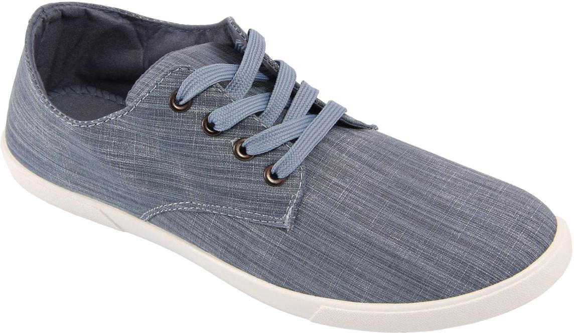 Кеды мужские In Step, цвет: синий. JT9392-6. Размер 44JT9392-6Мужские кеды от In Step изготовлены из высококачественного текстиля. Модель надежно фиксируется на ноге при помощи классической шнуровки. Сплошная резиновая подошва обеспечивает равномерное распределение нагрузки по всей поверхности стопы.