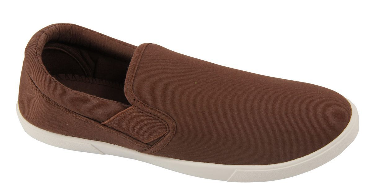 Слипоны мужские In Step, цвет: коричневый. JT9395. Размер 40JT9395Стильные мужские слипоны от In Step выполнены из высококачественного текстиля. Подошва из резины устойчива к изломам. На подъеме модель дополнена эластичными вставками для удобства надевания. Аккуратно смотрятся на ноге, комфортно носятся.