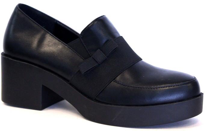 Полуботинки женские LK collection, цвет: черный. SP-XA0101-1 PU (SP-X01001-1). Размер 38SP-XA0101-1 PU (SP-X01001-1)Модные женские полуботинки на массивном каблуке и подошве выполнены из искусственной кожи. Стелька выполнена из натуральной кожи.