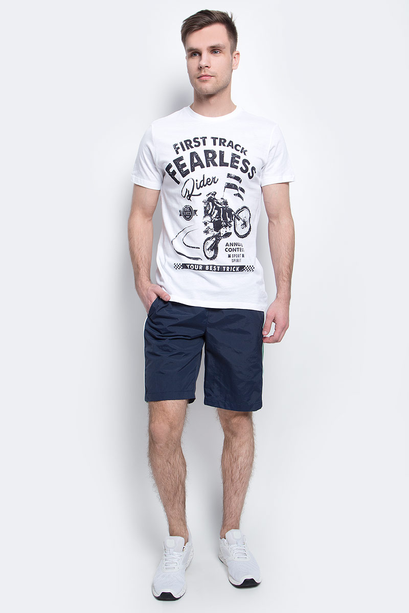Шорты пляжные мужские Sela, цвет: черно-синий. SHsp-2415/004-7214. Размер XS (44)SHsp-2415/004-7214Мужские пляжные шорты Sela, изготовленные из качественного материала с контрастными вставками, - идеальный вариант, как для купания, так и для отдыха на пляже. Модель прямого кроя с вшитыми сетчатыми трусами имеет широкий пояс на мягкой резинке. Изделие дополнено двумя прорезными карманами.Шорты быстро сохнут и сохраняют первоначальный вид и форму даже при длительном использовании.