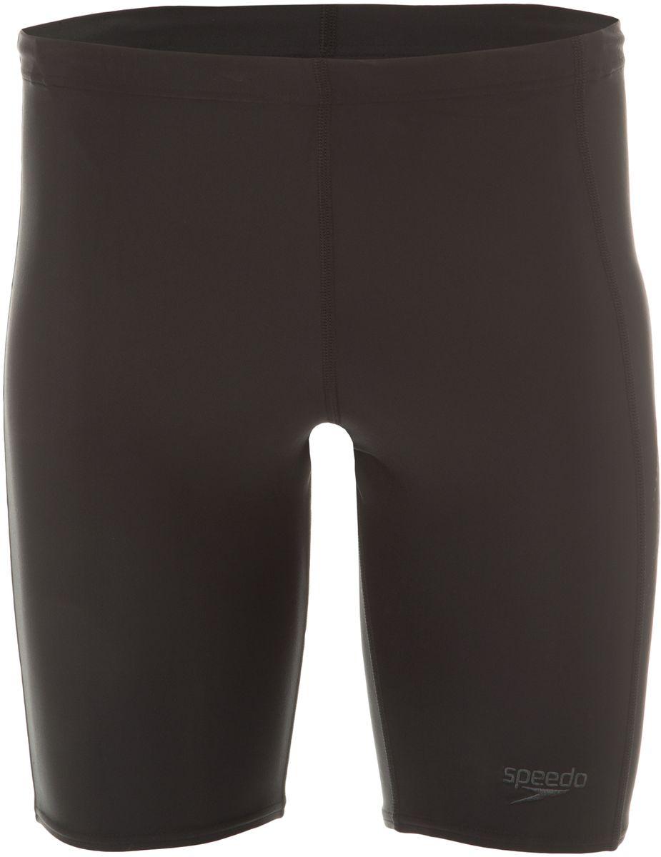Плавки-шорты мужские Speedo Sports Logo Jammer, цвет: черный, серый. 8-09529A839-A839. Размер 38 (48/50)8-09529A839-A839Спортивные удлиненные плавки-шорты Speedo Sports Logo Jammer с контрастным лого принтом предназначены для тренировок в бассейне. Плавки имеют пояс на мягкой эластичной резинке и удобно садятся по фигуре, обеспечивая комфорт при любых видах активности в воде.Изделие выполнено с использованием технологии Endurance 10, благодаря чему используемый материал в 10 раз более устойчив к разрушающему воздействию хлора, чем обычные ткани с эластаном и спандексом.