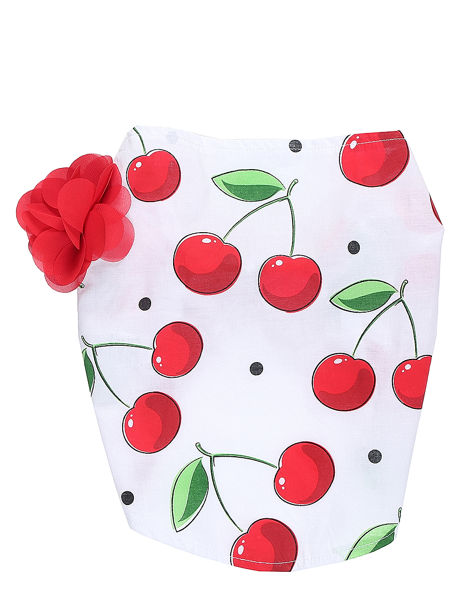Повязка на голову для девочки Sweet Berry, цвет: белый, красный. 714169. Размер 52714169Яркая повязка на голову для девочки Sweet Berry, изготовленная из качественного эластичного хлопка, защитит голову вашей малышки от солнца и сильного ветра. Модель оформлена модным принтом и объемным цветком и дополнена мягкой эластичной резинкой для фиксации на голове. Уважаемые клиенты!Размер, доступный для заказа, является обхватом головы.