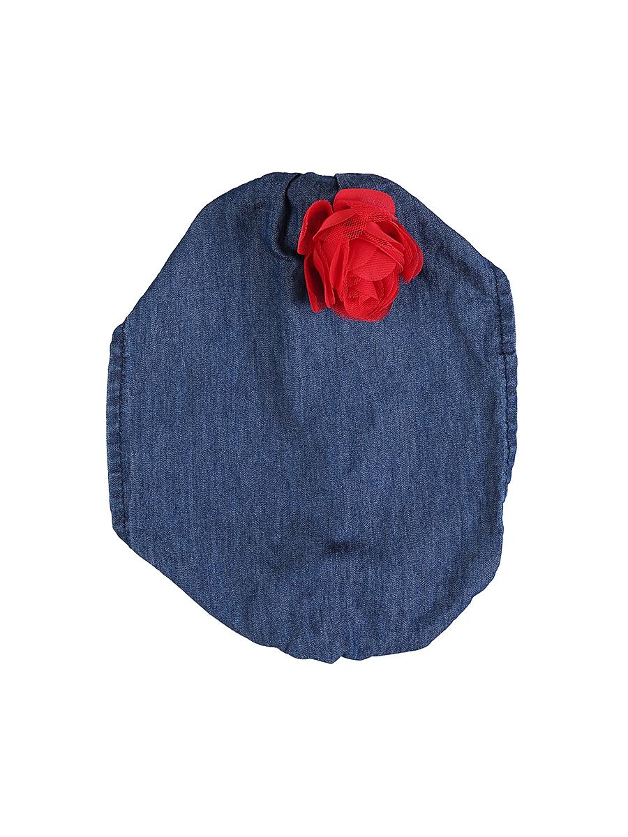 Повязка на голову для девочки Sweet Berry, цвет: синий. 714168. Размер 52714168Джинсовая повязка на голову для девочки Sweet Berry, изготовленная из натурального хлопка, защитит голову вашей малышки от солнца и сильного ветра. Модель оформлена объемным цветком и дополнена мягкой эластичной резинкой для фиксации на голове. Уважаемые клиенты!Размер, доступный для заказа, является обхватом головы.