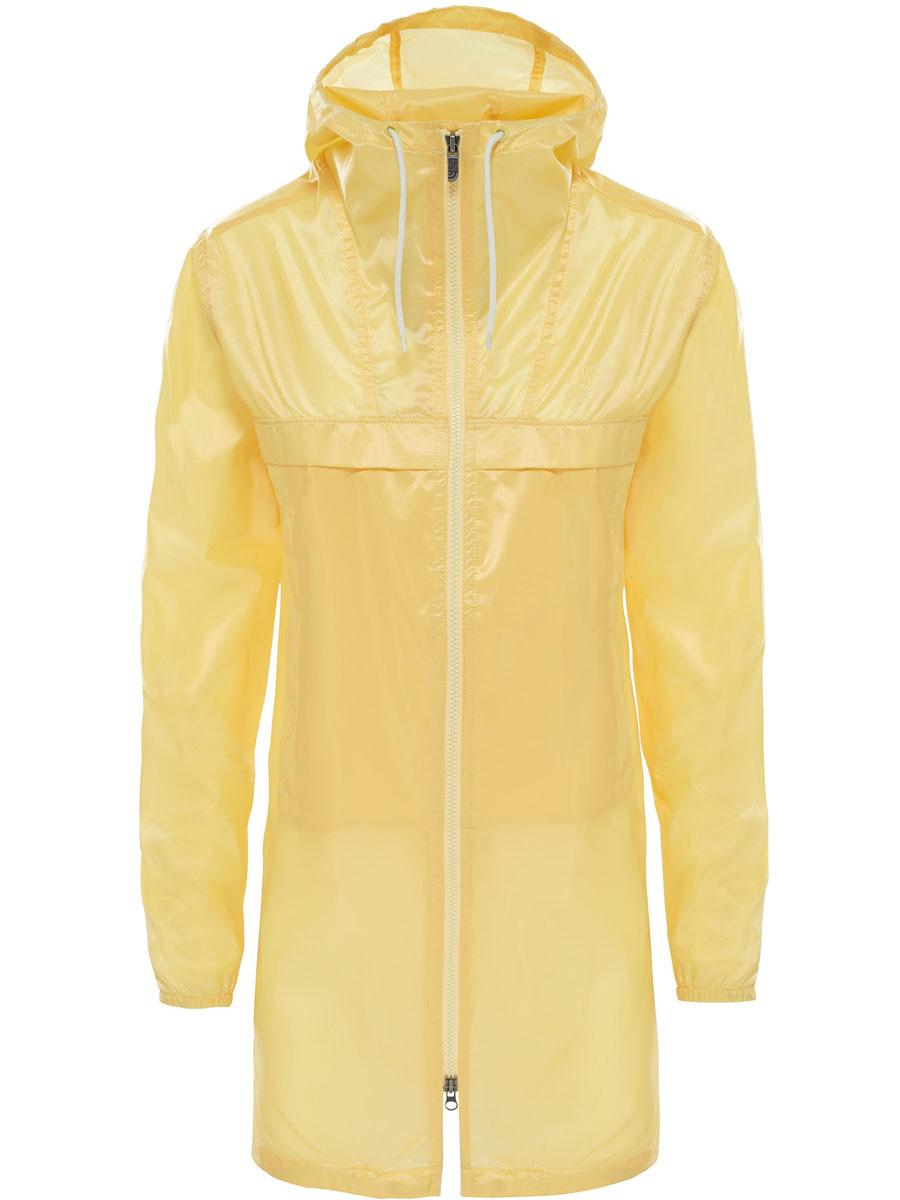 Плащ женский The North Face W Cagoule Lht Parka, цвет: желтый. T92S5INYB. Размер XS (40)T92S5INYBЖенский плащ от The North Face из серии W Cagoule Lht Parka выполнен из полиэстера, идеальный вариант верхней одежды для периодов межсезонья, которые, как известно, часто преподносят погодные сюрпризы. Изделие имеет длинные рукава, круглый вырез и капюшон на шнуровке. Модель имеет застежку на молнии. Манжеты на резинке.