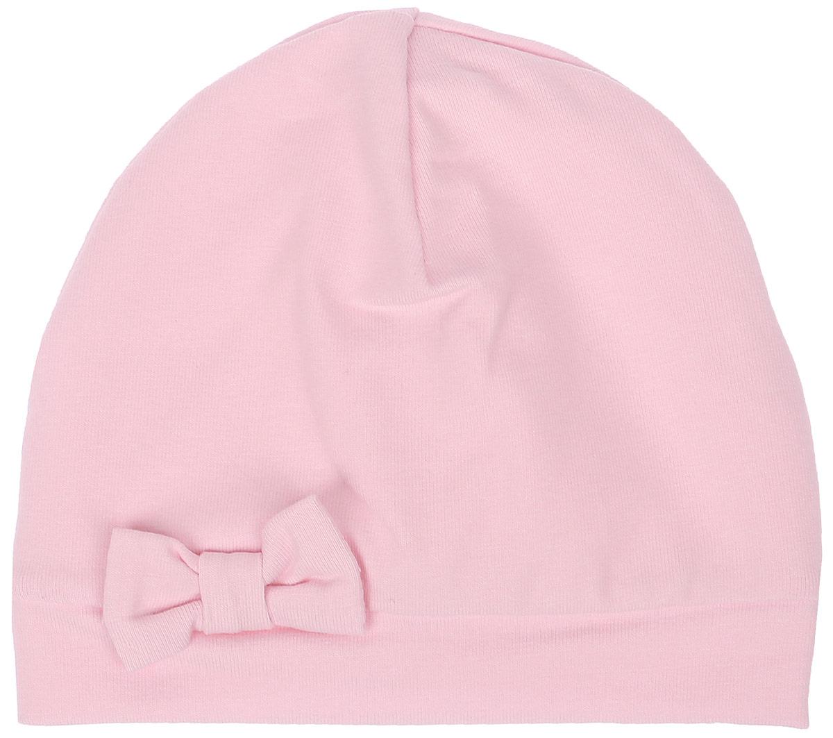 Шапочка для девочки СовенокЯ Розовая зебра, цвет: розовый. 33-592. Размер 4033-592Детская шапочка СовенокЯ изготовлена из натурального хлопка. Тонкая шапочка выполнена из двойного трикотажа. Спереди модель дополнена декоративным бантиком. Уважаемые клиенты! Размер, доступный для заказа, является обхватом головы.