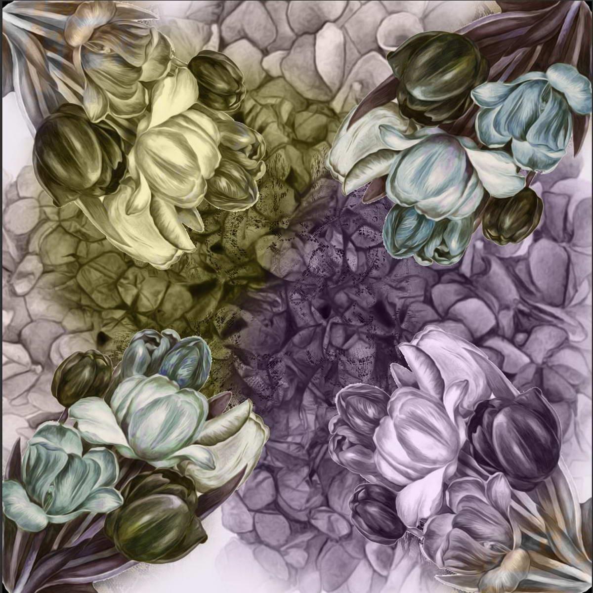 Платок Venera, цвет: сиреневый, оливковый, серый. 3902627-14. Размер 90 см х 90 см3902627-14Платок Venera выполнен из 100% полиэстера. Материал мягкий, уютный и приятный на ощупь. Модель дополнена интересным зеркальным принтом. Отличный выбор для повседневного городского образа. Необычный рисунок привлечет внимание окружающих. В нем вы будете неповторимы.