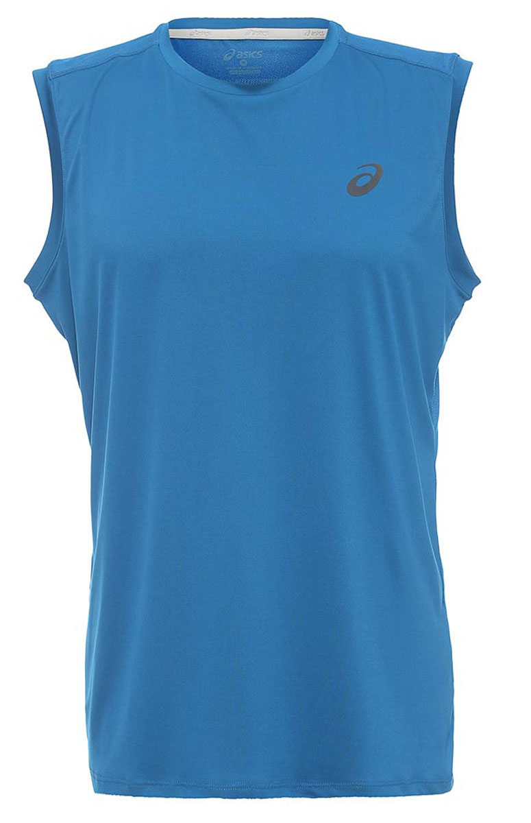 Майка для фитнеса мужская Asics Performance Sl Top, цвет: синий. 144529-8154. Размер L (50/52)