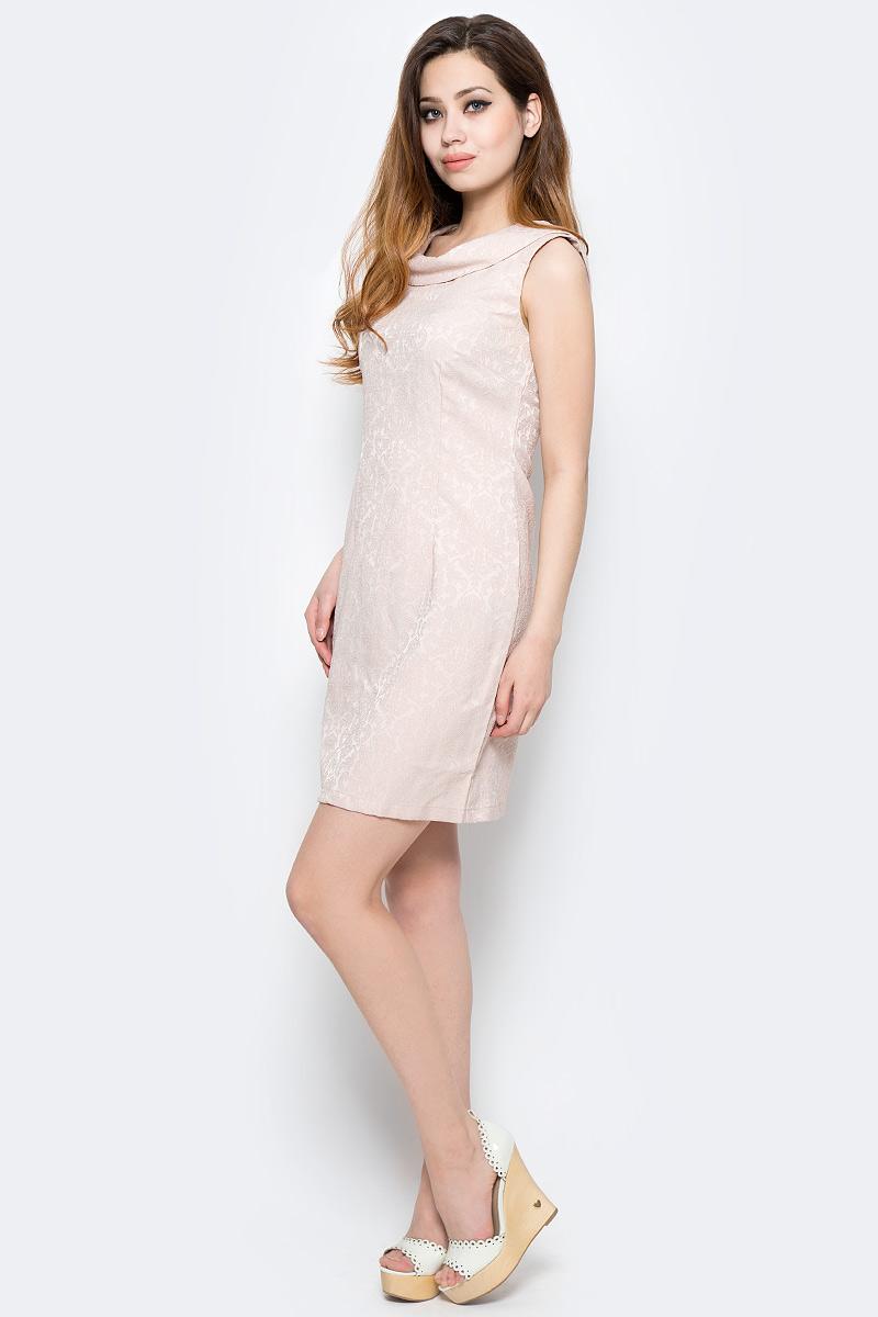 Платье Milton, цвет: серый. WD-2485F. Размер 48WD-2485FПлатье прилегающего силуэта, без рукавов, с круглым вырезом горловины.