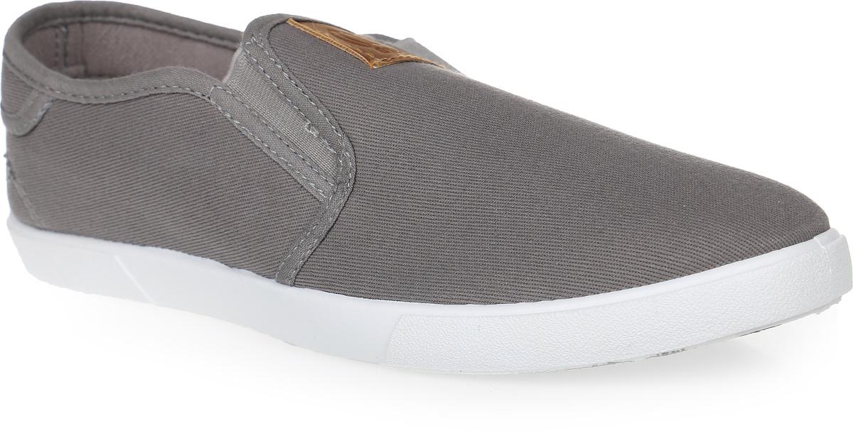 Слипоны мужские In Step, цвет: серый. JT9396. Размер 40JT9396Стильные мужские слипоны от In Step выполнены из высококачественного текстиля. Подошва из ПВХ устойчива к изломам. На подъеме модель дополнена эластичными вставками для удобства надевания. Аккуратно смотрятся на ноге, комфортно носятся.