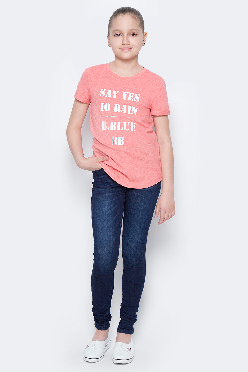 Джинсы для девочки Tom Tailor, цвет: темно-синий джинс. 6205481.00.40_1097. Размер 1466205481.00.40_1097Стильные джинсы для девочки Tom Tailor, изготовленные из эластичного хлопка, они необычайно мягкие и приятные на ощупь, не сковывают движения малышки и позволяют коже дышать.Джинсы-дудочки с завышенной талией застегиваются на металлическую пуговицу, также имеются шлевки для ремня и ширинка на металлической застежке-молнии. С внутренней стороны пояс регулируется резинкой на пуговицах. Модель спереди дополнена двумя втачными и одним маленьким накладным кармашком, а сзади - двумя накладными карманами.
