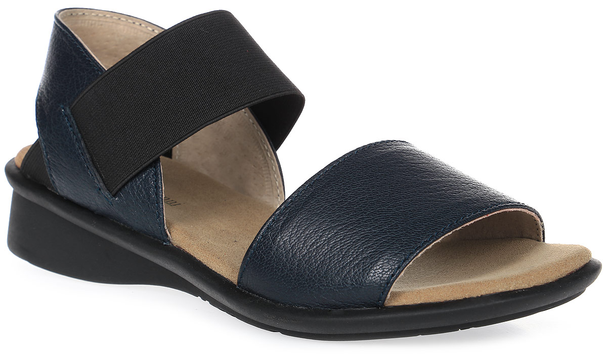 Сандалии женские Francesco Donni, цвет: темно-синий. P515 662NS-Y86-08G84. Размер 37P515 662NS-Y86-08G84Стильные женские сандалии выполнены из натуральной кожи. Эластичный ремешок на подъеме надежно зафиксирует модель на ноге. Подошва дополнена рифлением.