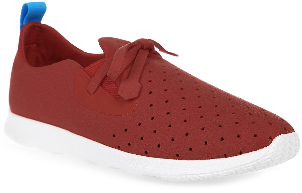 Кроссовки детские Native Apollo Moc, цвет: красный. 22104000-6400. Размер J2 (32)22104000-6400Модные суперлегкие кроссовки Apollo Moc от Native очаруют вашего ребенка с первого взгляда. Модель, выполненная из текстиля, оформлена декоративной перфорацией. Эластичные вставки на подъеме гарантируют оптимальную посадку обуви на ноге. Ярлычок на заднике облегчает обувание модели. Внутренняя поверхность и стелька из мягкого текстиля предотвращают натирание и дарят комфорт.Подошва из легкой резины с рифлением обеспечивает отличное сцепление с любой поверхностью. В таких кроссовках ножкам вашего ребенка всегда будет комфортно и уютно!