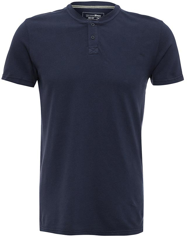 Поло мужское Tom Tailor Denim, цвет: темно-синий. 1531099.00.12_6696. Размер M (48)1531099.00.12_6696Мужская футболка-поло Tom Tailor Denim поможет создать отличный современный образ. Модель изготовлена из хлопка. Футболка-поло с короткими рукавами застегивается сверху на две пуговицы. Такая футболка станет стильным дополнением к вашему гардеробу, она подарит вам комфорт в течение всего дня!