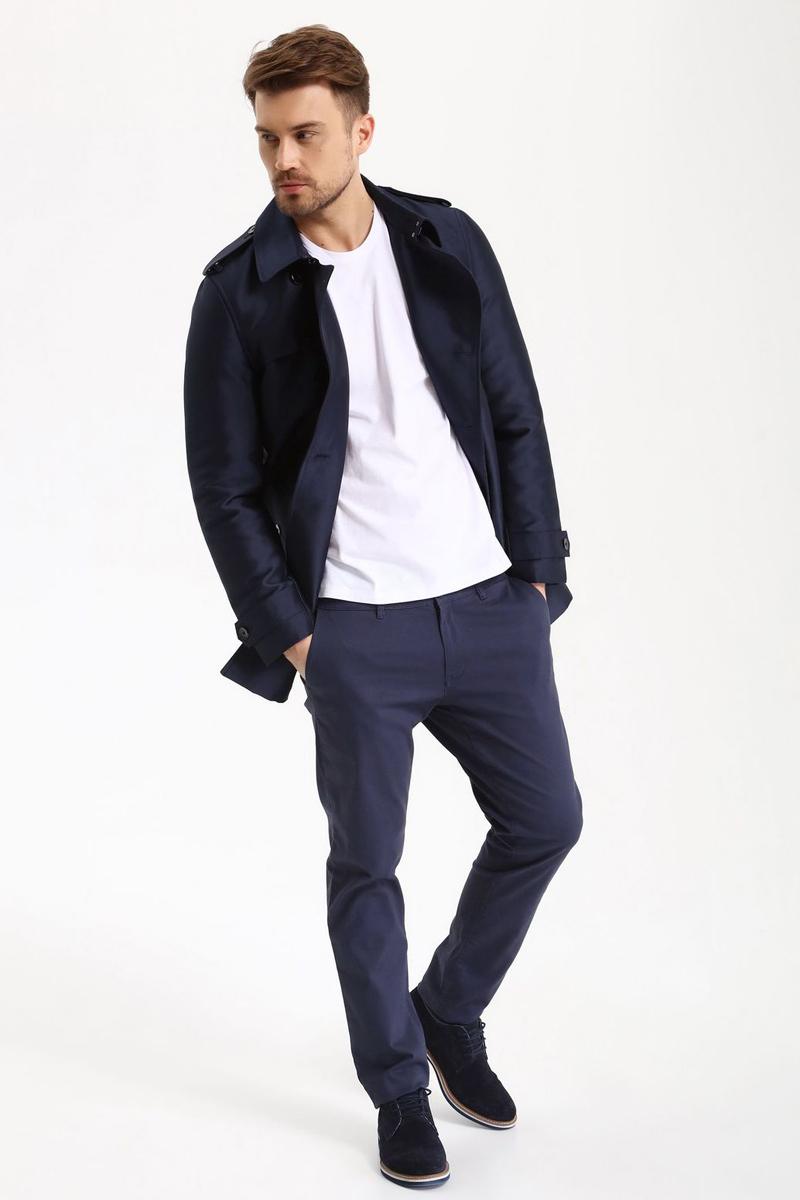 Брюки мужские Top Secret, цвет: синий. SSP2488GR. Размер 36 (52)SSP2488GRСтильные мужские брюки Top Secret - брюки высочайшего качества на каждый день, которые прекрасно сидят. Модель изготовлена из высококачественного хлопка и эластана. Застегиваются брюки на пуговицу в поясе и ширинку на молнии, имеются шлевки для ремня. Эти модные и в тоже время комфортные брюки послужат отличным дополнением к вашему гардеробу. В них вы всегда будете чувствовать себя уютно и комфортно.