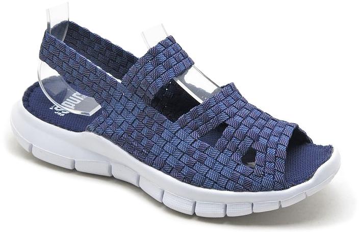 Сандалии женские Spur, цвет: синий. SM3830_01_09_BLUE. Размер 40SM3830_01_09_BLUEУдобные женские сандалии предназначены для спорта и повседневной носки. Модель выполнена из плотного материала.Резиновая подошва с рельефной поверхностью обеспечивает отличное сцепление с любыми поверхностями.
