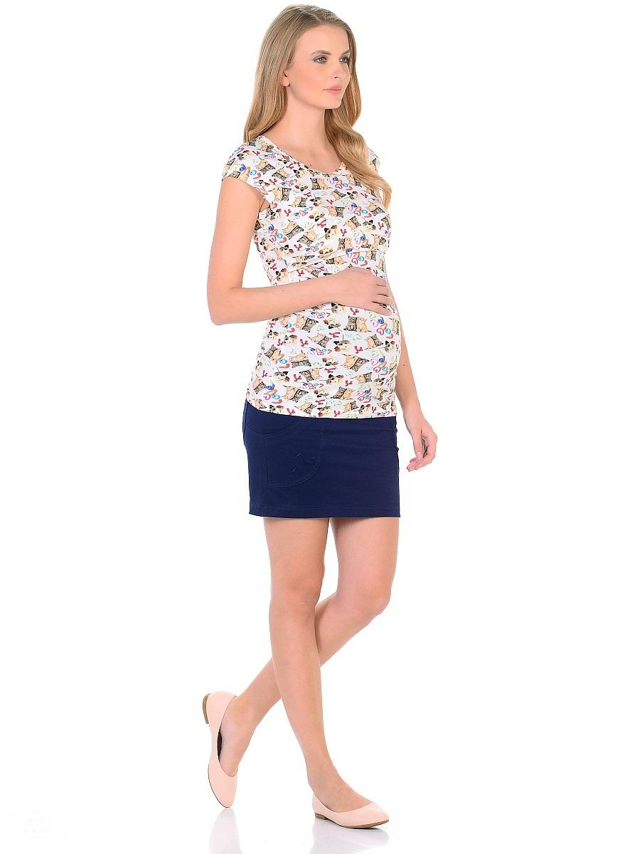Футболка для беременных 40 недель, цвет: молочный. 207120/2. Размер 46207120/2Футболка с секретом кормления для беременных и кормящих женщин от бренда 40 недель изготовлена из трикотажного полотна в привлекательной расцветке. Футболка приталенного покроя, со спущенной линией плеча и округлым вырезом горловины. Для удобного кормления достаточно приподнять кокетку и с комфортом покормить малыша не заметно для окружающих. Практичный и мягкий вискозный трикотаж с небольшим добавлением лайкры, хорошо растягивается и бережно облегает, ткань приятная к телу. Футболка идеально сидит по фигуре, не сковывает движений, обеспечивает комфорт.