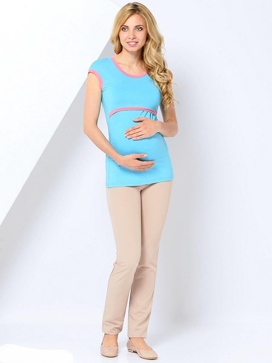 Брюки для беременных 40 недель, цвет: бежевый. 101194. Размер 52101194Классические зауженные брюки для беременных от бренда 40 недель выполнены из приятного к телу материала с высоким содержанием хлопка и вискозы. Модель дополнена двумя задними накладными карманами, трикотажной вставкой для животика с регулируемой резинкой в поясе. Спереди брюки оформлены декоративной прострочкой на карманах и пояске. Благодаря прекрасной посадке и продуманному дизайну брюки подойдут как на всем сроке беременности, так и после нее.