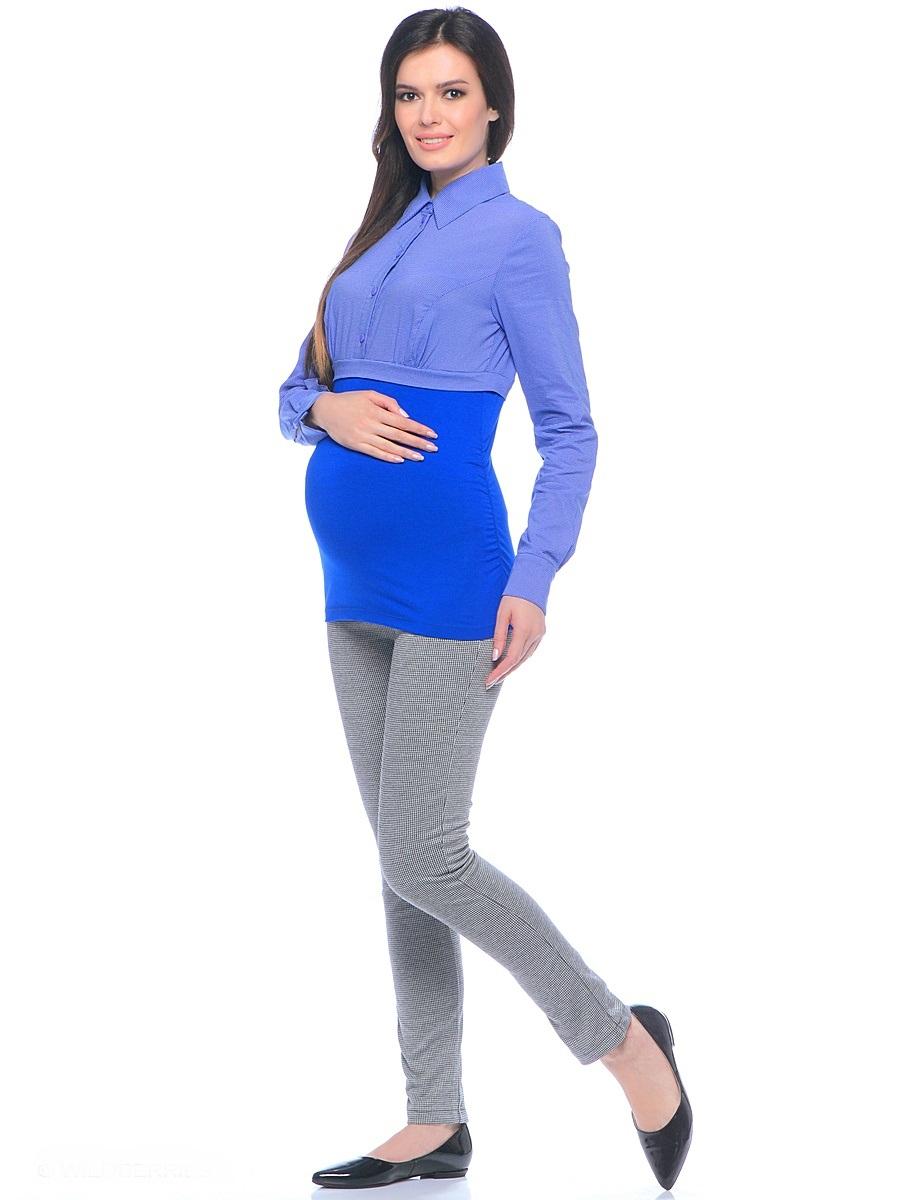 Брюки для беременных 40 недель, цвет: серый. 101199. Размер 42101199Стильные брюки для беременных от бренда 40 недель выполнены из мягкого брючного трикотажа. Модель зауженного кроя с высокой посадкой и с двумя задними накладными карманами. Благодаря кокетке для животика с регулируемой резинкой в поясе и специальному крою, брюки обеспечивают отличную посадку по фигуре, их комфортно носить на протяжении всего срока беременности и после рождения малыша.