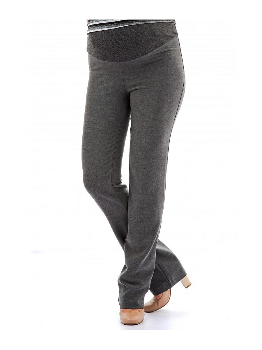 Брюки для беременных 40 недель, цвет: серый. 120125. Размер 44120125Классические брюки для беременных от бренда 40 недель выполнены из мягкого текстильного полотна. Модель прямого покроя, дополнена трикотажной вставкой под животик и регулируемой резинкой, что позволяет носить их на всем сроке беременности. Брюки отлично подойдут как для работы в офисе, так и на каждый день.