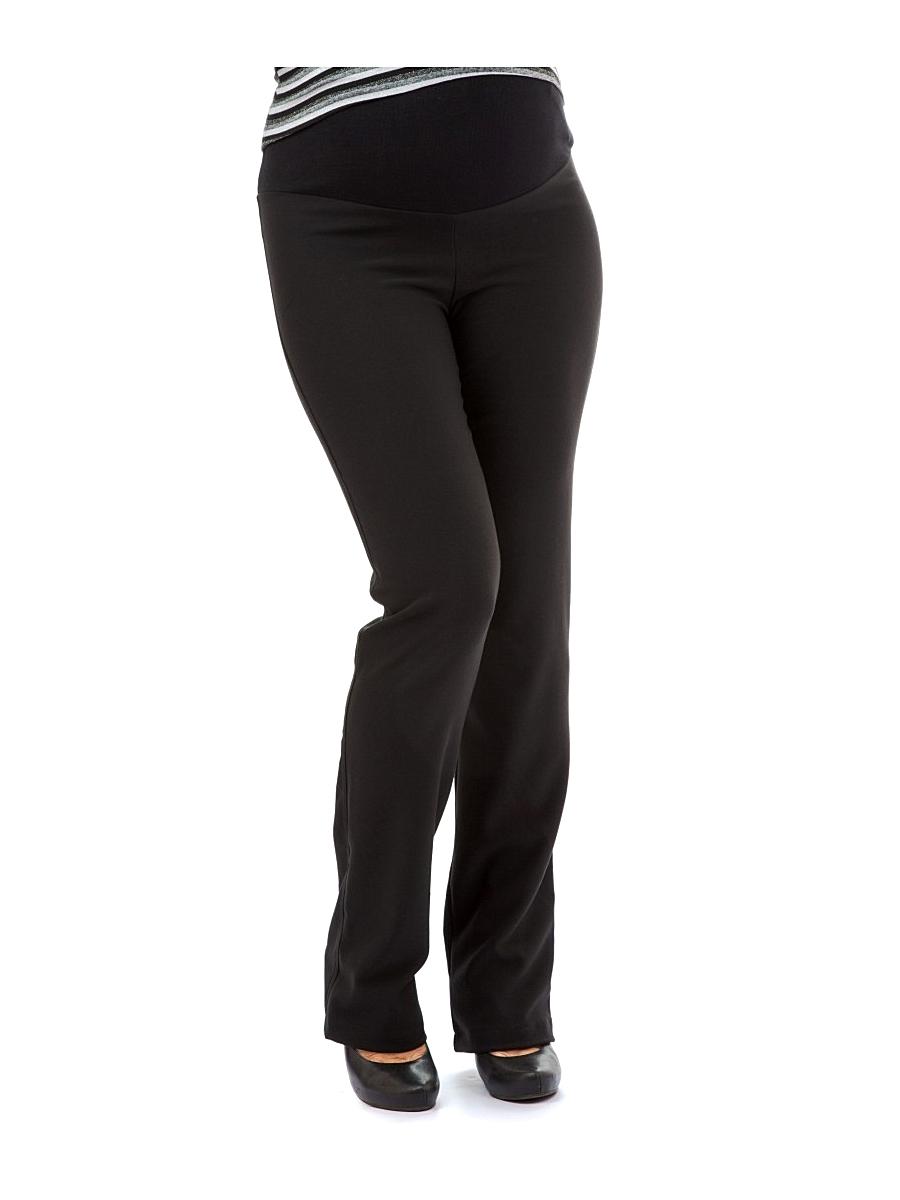Брюки для беременных 40 недель, цвет: черный. 120125. Размер 44120125Классические брюки для беременных от бренда 40 недель выполнены из мягкого текстильного полотна. Модель прямого покроя, дополнена трикотажной вставкой под животик и регулируемой резинкой, что позволяет носить их на всем сроке беременности. Брюки отлично подойдут как для работы в офисе, так и на каждый день.