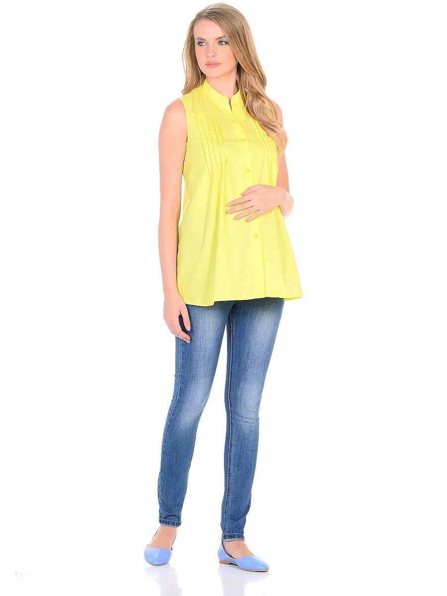 Джинсы для беременных 40 недель, цвет: голубой. 103174. Размер 48103174Джинсы для беременных от бренда 40 недель - прекрасный выбор для будущей мамы на каждый день! Модель зауженного кроя, с высокой посадкой по талии. Джинсы имеют трикотажную кокетку с регулируемой резинкой в поясе, что позволяет носить их с комфортом на любом сроке беременности и после рождения малыша. Передние и задние накладные карманы дополнены для практичности специальными заклепками в уголках, которые спасают джинсы от распарывания по шву. На переднем и заднем карманах набиты стильные надписи. Вертикальные потертости визуально вытягивают, делая ноги стройнее. Благодаря оптимальному содержанию эластана, джинсы отлично садятся на любую фигуру, не сковывают движений, хорошо держат форму. Джинсы универсальны в своем применении, они комбинируются со многими предметами гардероба, в них образ выглядит стильно, современно и безупречно в любой ситуации.