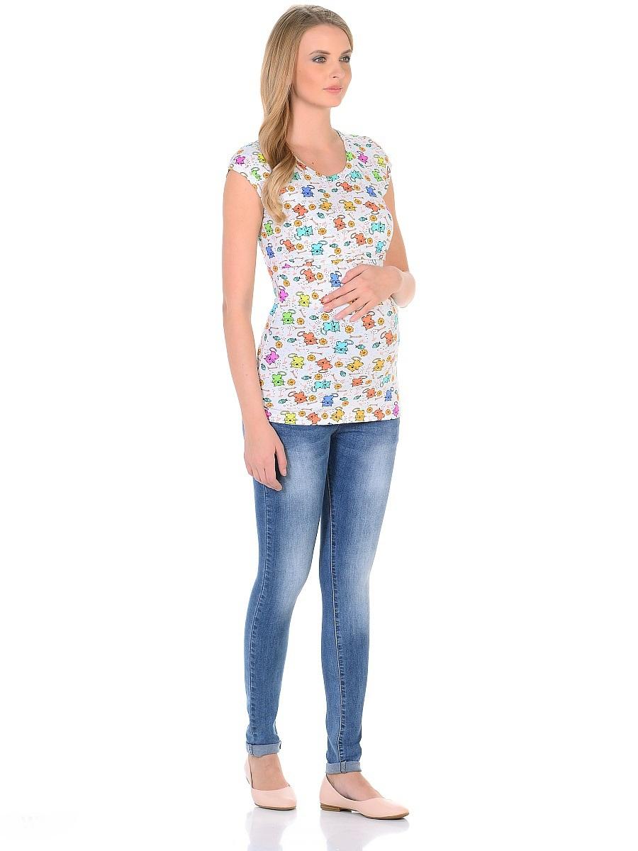 Джинсы для беременных 40 недель, цвет: голубой. 103187. Размер 42103187Джинсы для беременных от бренда 40 недель - прекрасный выбор для будущей мамы на каждый день. Модель зауженного кроя, с высокой посадкой по талии. Джинсы имеют трикотажную кокетку с регулируемой резинкой в поясе, что позволяет носить их с комфортом на любом сроке беременности и после рождения малыша. Передние и задние накладные карманы дополнены для практичности специальными заклепками в уголках, которые спасают джинсы от распарывания по шву. На переднем и заднем карманах - металлические декоративные элементы. Вертикальные потертости визуально вытягивают, делая ноги стройнее. Благодаря оптимальному содержанию эластана, джинсы отлично садятся на любую фигуру, не сковывают движений, хорошо держат форму. Джинсы универсальны в своем применении, они комбинируются со многими предметами гардероба, в них образ выглядит стильно, современно и безупречно в любой ситуации.