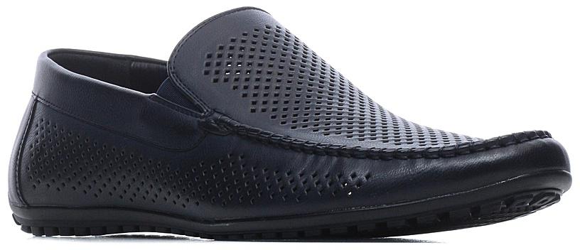 Туфли мужские Francesco Donni, цвет: синий. T864 680YW-X38-08G03. Размер 44T864 680YW-X38-08G03Мужские туфли выполнены из искусственной перфорированной кожи. Эластичные вставки на подъеме обеспечат комфортную посадку на ноге. Подкладка и стелька изготовлены из текстиля, что позволяет ногам дышать. Подошва оснащена рифлением.