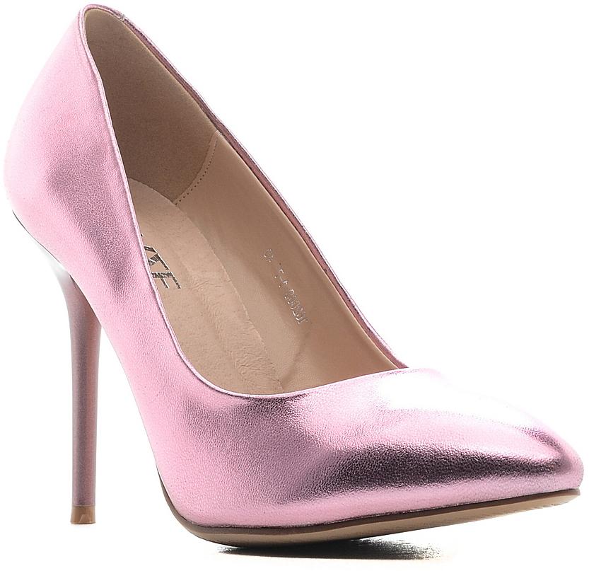 Туфли женские Daze, цвет: светлая фуксия. 16200S-1-7. Размер 4016200S-1-7Изысканные женские туфли Daze эффектно дополнят ваш модный образ.Модель на высокой шпильке выполнена из искусственной кожи. Зауженный носок смотрится стильно. Стильные туфли подчеркнут вашу яркую индивидуальность, позволят выделиться среди окружающих.