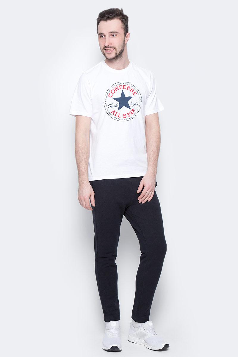 Брюки спортивные мужские Converse Sportswear Jogger, цвет: черный. 10000657001. Размер L (50) converse мужские украина