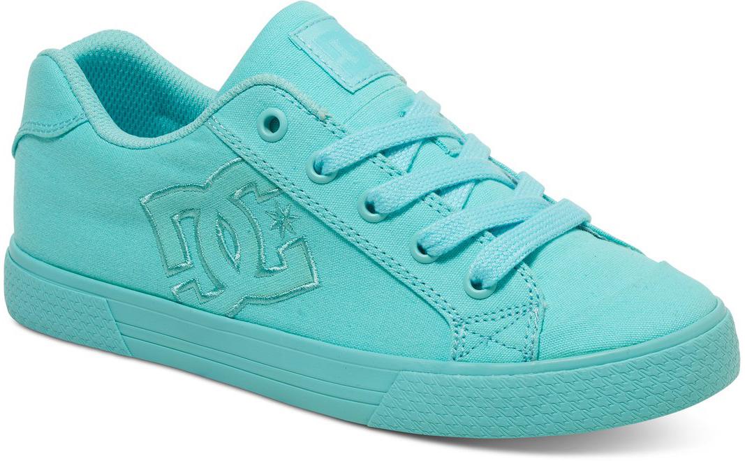 Кеды женские DC Shoes Chelsea Tx, цвет: бирюзовый. 303226-AQA. Размер 7B (38)303226-AQAКеды от DC Shoes выполнены из текстиля. Язычок оформлен фирменной нашивкой. Ярлычок на заднике облегчит надевание модели. На ноге модель фиксируется с помощью шнурков. Внутренняя поверхность выполнена из текстиля. Подошва изготовлена из высококачественной резины и дополнена протектором, который гарантирует отличное сцепление с любой поверхностью.
