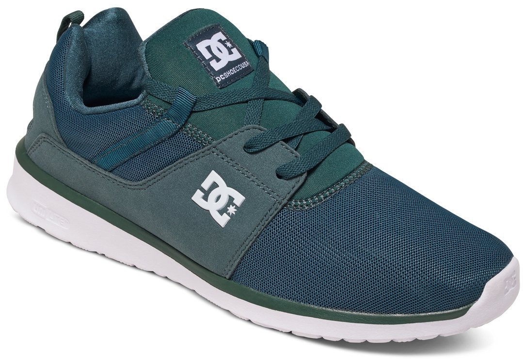 Кроссовки мужские DC Shoes Heathrow, цвет: темно-зеленый. ADYS700071-DGR. Размер 10D (43)ADYS700071-DGRКроссовки от DC Shoes выполнены из текстиля. Язычок оформлен фирменной нашивкой. На ноге модель фиксируется с помощью шнурков. Внутренняя поверхность выполнена из текстиля. Подошва изготовлена из высококачественной резины и дополнена протектором, который гарантирует отличное сцепление с любой поверхностью.