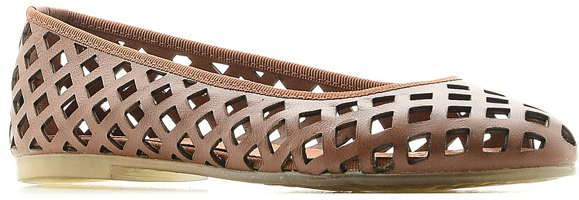 Балетки El Tempo, цвет: светло-коричневый. ESM9_213. Размер 38ESM9_213_M.CARAMELOСтильные балетки от El Tempo очаруют вас с первого взгляда. Модель с перфорацией и круглым мыском выполнена из натуральной кожи. Кожаная стелька комфортна при движении. Подошва из полиуретана устойчива к изломам. В таких балетках вашим ногам будет уютно и комфортно! Они внесут женственные нотки в любой из ваших нарядов.