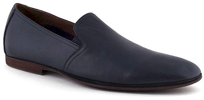 Туфли мужские El Tempo, цвет: синий. CG105_1124-09B. Размер 43CG105_1124-09B_BLUEЭлегантные мужские туфли от El Tempo покорят вас своим удобством. Модель выполнена из высококачественной натуральной кожи. Эластичные резинки, расположенные на подъеме, надежно фиксируют обувь на ноге. Стелька и подкладка из натуральной кожи позволяют ногам дышать.Стильные туфли прекрасно впишутся в ваш гардероб.