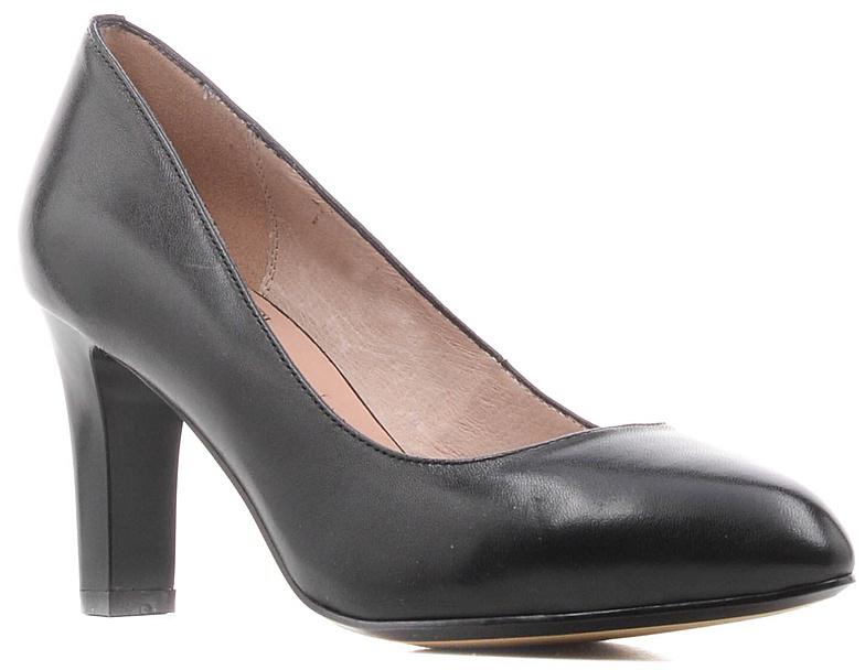 Туфли женские Palazzo Doro, цвет: черный. S7E10-01-01. Размер 41S7E10-01-01Модные женские туфли от Palazzo Doro заинтересуют вас своим дизайном.Модель выполнена из высококачественной натуральной кожи. Зауженный носок смотрится стильно. Подкладка и стелька из натуральной кожи обеспечивают комфорт при движении.Подошва дополнена противоскользящим рифлением.Роскошные туфли помогут вам создать элегантный образ.