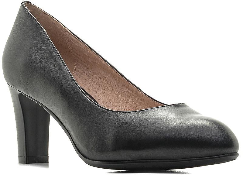 Туфли женские Palazzo Doro, цвет: черный. S7E04-06-01. Размер 36S7E04-06-01Модные женские туфли от Palazzo Doro заинтересуют вас своим дизайном.Модель выполнена из высококачественной натуральной кожи. Зауженный носок смотрится стильно. Подкладка и стелька из натуральной кожи обеспечивают комфорт при движении.Роскошные туфли помогут вам создать элегантный образ.