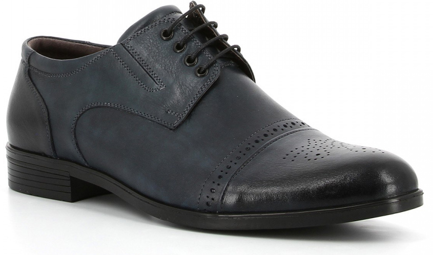 Полуботинки мужские Paolo Conte, цвет: темно-синий. 09-212-11-2. Размер 4509-212-11-2Полуботинки мужские Paolo Conte изготовлены из качественной натуральной кожи с перфорацией. Удобный язычок с практичной шнуровкой прочно зафиксирует обувь на ноге. Мягкая стелька выполнена из кожи. Стильные полуботинки прекрасно дополнят ваш гардероб.