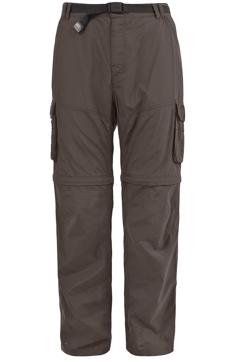 Брюки туристические мужские Trespass Riccall, цвет: серый. MABTTRK10001. Размер L (52)MABTTRK10001Великолепные легкие быстросохнущие брюки для занятия туризмом Trespass Riccall выполнены из полиамида. Модель стандартной посадки с 8 удобными карманами.