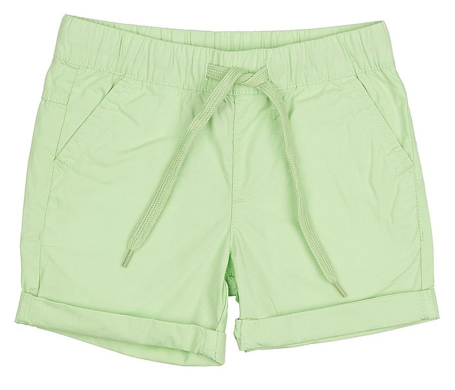Шорты для мальчика Sela, цвет: светло-зеленый. SH-715/303-7235. Размер 98SH-715/303-7235Стильные шорты для мальчика Sela, изготовленные из натурального хлопка, станут отличным дополнением гардероба в летний период. Шорты прямого кроя с опцией подгибки и стандартной посадки на талии имеют пояс на мягкой резинке, дополнительно регулируемый шнурком. Модель дополнена двумя втачными карманами спереди и двумя прорезными карманами сзади.