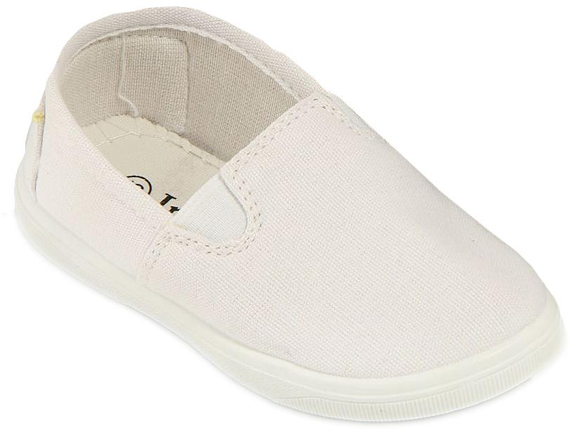 Кеды детские In Step, цвет: белый. 188A-2/4. Размер 27188A-2/4Стильные детские кеды от In Step выполнены из высококачественного текстиля. Подошва из резины устойчива к изломам. На подъеме модель дополнена эластичными вставками для удобства надевания. Аккуратно смотрятся на ноге, комфортно носятся.