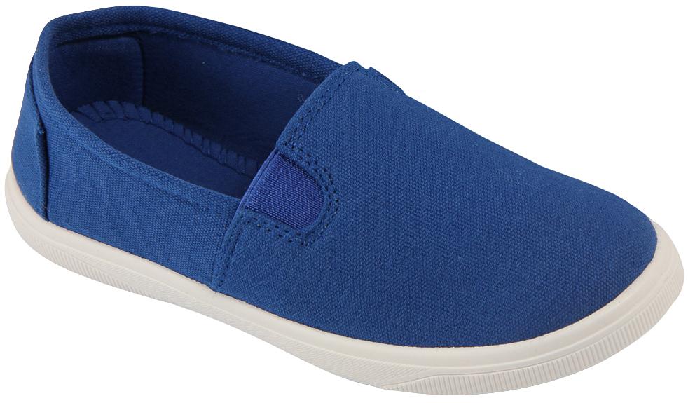 Кеды детские In Step, цвет: синий. 188. Размер 38188Стильные детские кеды от In Step выполнены из высококачественного текстиля. Подошва из резины устойчива к изломам. На подъеме модель дополнена эластичными вставками для удобства надевания. Аккуратно смотрятся на ноге, комфортно носятся.