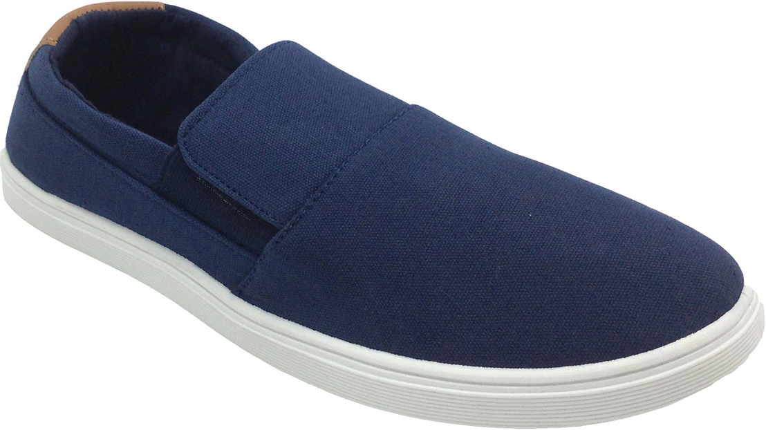 Слипоны женские In Step, цвет: синий. VT5159-2. Размер 36VT5159-2Стильные женские слипоны от In Step выполнены из высококачественного текстиля. Подошва из резины устойчива к изломам. На подъеме модель дополнена эластичными вставками для удобства надевания. Аккуратно смотрятся на ноге, комфортно носятся.