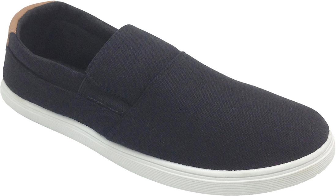 Слипоны женские In Step, цвет: черный. VT5159-1. Размер 39VT5159-1Стильные женские слипоны от In Step выполнены из высококачественного текстиля. Подошва из резины устойчива к изломам. На подъеме модель дополнена эластичными вставками для удобства надевания. Аккуратно смотрятся на ноге, комфортно носятся.