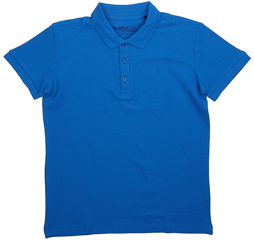 Поло для мальчика Sela, цвет: индиго. Tsp-811/607-7224. Размер 152Tsp-811/607-7224Стильная футболка-поло для мальчика Sela выполнена из натурального хлопка Модель прямого кроя с отложным воротничком, застегивающимся на пуговицы, подойдет для прогулок и дружеских встреч и будет отлично сочетаться с джинсами, брюками и шортами.Яркий цвет модели позволяет создавать стильные образы.