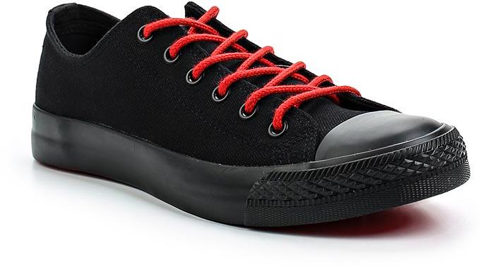 Кеды женские Affex, цвет: черный. 21-KRD-BLK-W. Размер 3721-KRD-BLK-WСтильные кеды Affex созданы для тех, кто предпочитает оригинальный дизайн и непревзойденное качество. Модель выполнена из прочного текстиля и оформлена прострочкой. Мыс защищен резиновой накладкой. Классическая шнуровка надежно фиксирует обувь на ноге. Стелька и подкладка из мягкого текстиля комфортны при ходьбе. Подошва исполнена из износостойкой резины. Рифление на подошве обеспечивает идеальное сцепление с любыми поверхностями. Эффектные кеды помогут вам создать яркий, динамичный образ.