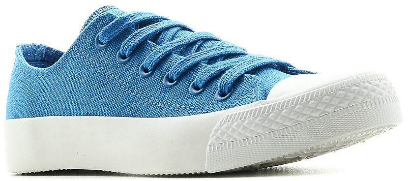 Кеды женские Affex, цвет: синий. 21-KRD-ELB-W. Размер 3821-KRD-ELB-WСтильные кеды Affex созданы для тех, кто предпочитает оригинальный дизайн и непревзойденное качество. Модель выполнена из прочного текстиля и оформлена прострочкой. Мыс защищен резиновой накладкой. Классическая шнуровка надежно фиксирует обувь на ноге. Стелька и подкладка из мягкого текстиля комфортны при ходьбе. Подошва исполнена из износостойкой резины. Рифление на подошве обеспечивает идеальное сцепление с любыми поверхностями. Эффектные кеды помогут вам создать яркий, динамичный образ.
