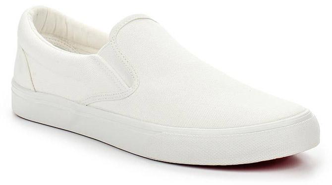 Слипоны мужские Affex, цвет: белый. 23-UFA-WHT-M. Размер 4223-UFA-WHT-MСтильные мужские слипоны от Affex выполнены из высококачественного текстиля. Подошва из термопластичной резины устойчива к изломам. На подъеме модель дополнена эластичными резинками для удобства надевания. Аккуратно смотрятся на ноге, комфортно носятся.