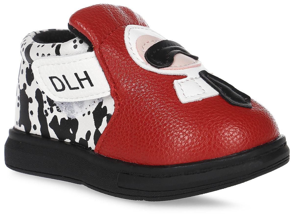 Пинетки детские Канарейка, цвет: красный. K1187. Размер 17K1187Оригинальные детские пинетки от компании Канарейка - это легкая и удобная обувь для малышей, которые еще не умеют или только учатся ходить. Верх модели выполнен из качественной искусственной кожи. Внутри изделие выполнено из мягкого текстиля. Застегиваются пинетки на удобную липучку.