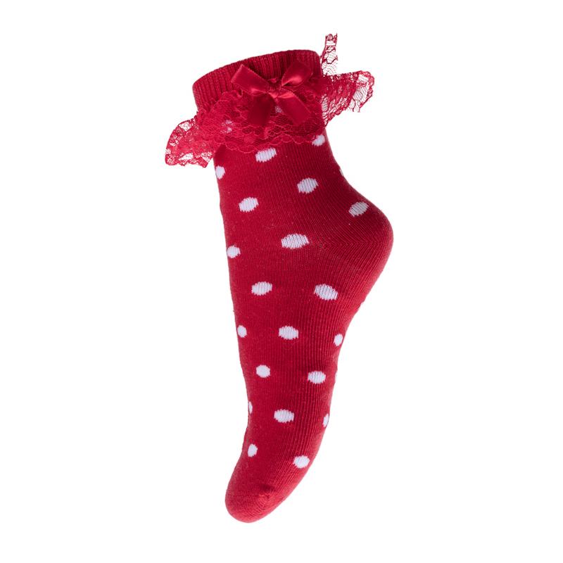 Носки для девочки PlayToday, цвет: красный, белый. 272029. Размер 14272029Носки PlayToday, изготовленные из высококачественного материала, прекрасно подойдут вашему ребенку. Эластичная резинка плотно облегает ножку ребенка, не сдавливая ее. Усиленная пятка и мысок обеспечивают надежность и долговечность.
