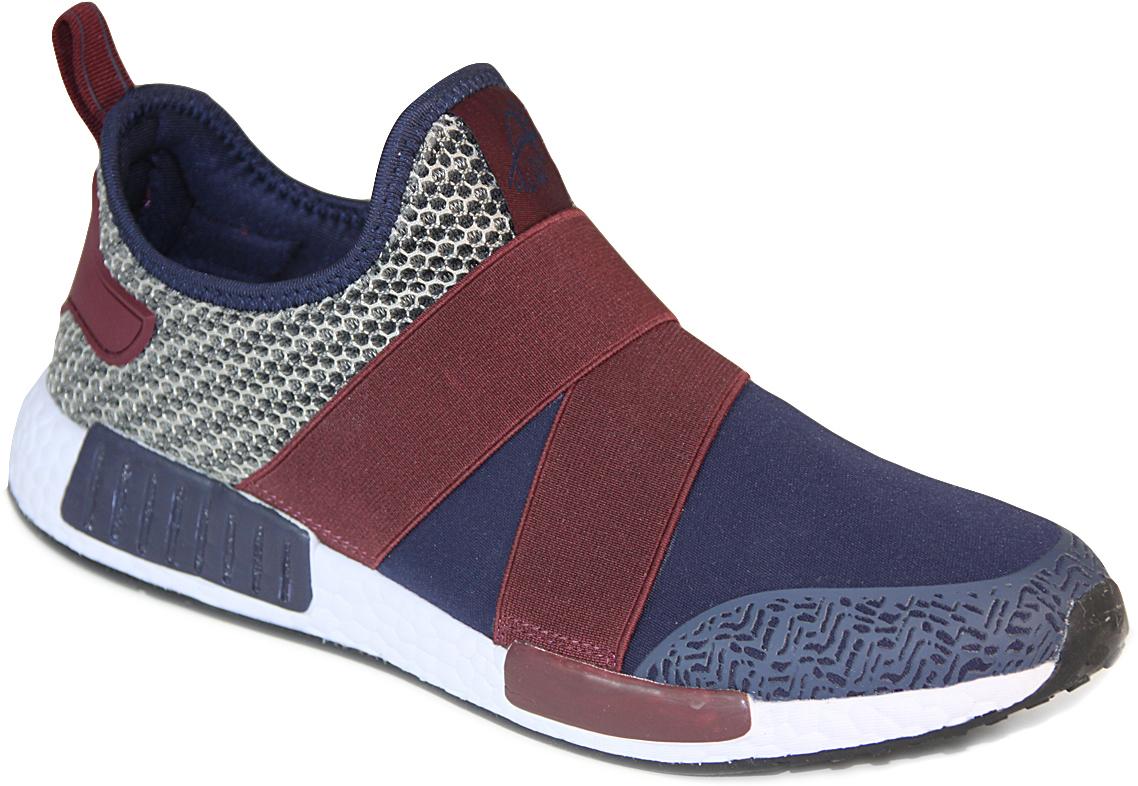 Кроссовки мужские Ego, цвет: темно-синий, бордовый. GT-13723M. Размер 41GT-13723MМужские кроссовки от Ego выполнены из текстиля. Подкладка и стелька из текстиля комфортны при движении. Мыс модели защищен бесшовной накладкой. Эластичные резинки на подъеме обеспечивают идеальную посадку модели на ноге. Подошва дополнена рифлением.